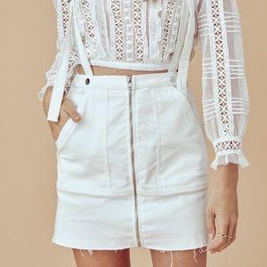 For Love & Lemons skirt overalls.